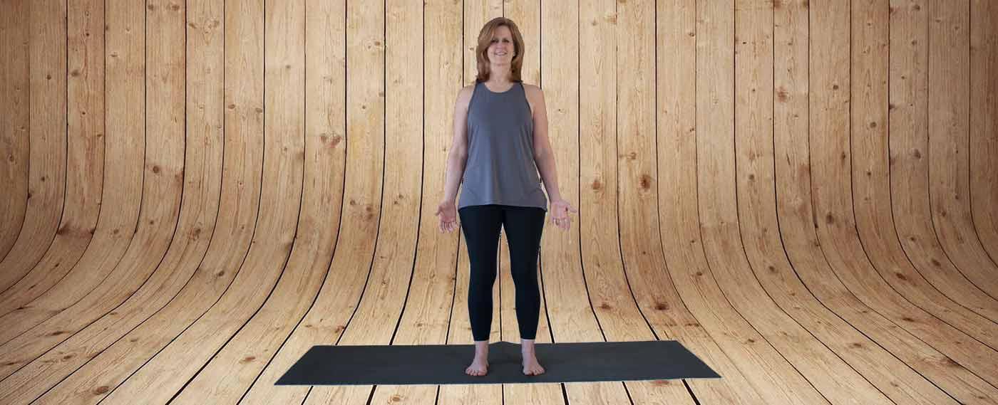 Yoga Pose Tadasana Kick It Up Coaching